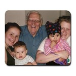 Grandpas visit - Large Mousepad