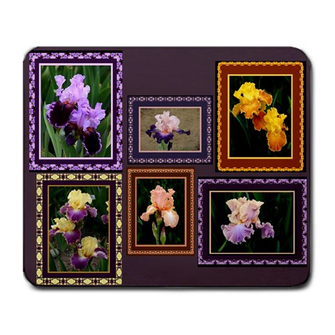 Iris Mousepad By Ellan   Large Mousepad   Tppyrocb5yp4   Www Artscow Com Front