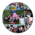 mouse collage - Collage Round Mousepad