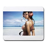pepper love - Large Mousepad