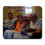 reading  tails  to Jaycee, July 2010 mousepad  - Collage Mousepad