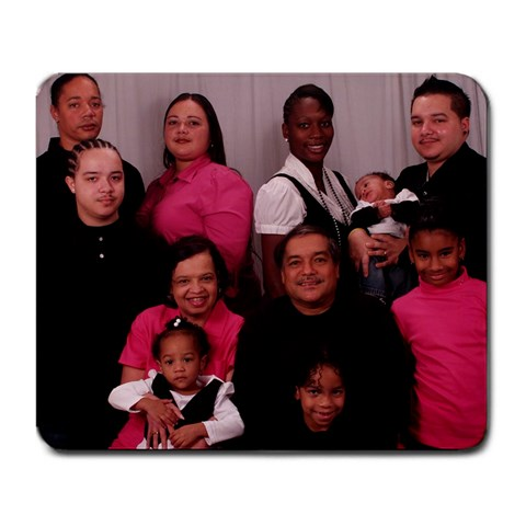 Family Picture Mouse Pad     Free!!!!!! By Wonneta   Large Mousepad   Iy9rrl9dkbxm   Www Artscow Com Front