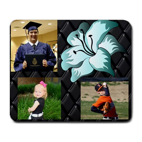 Family Mouse Pad By Karren Scott   Collage Mousepad   Cnf5ycwseaem   Www Artscow Com 9.25 x7.75 Mousepad - 1