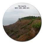 The Bluffs - Collage Round Mousepad