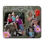 Glam Girls - Collage Mousepad