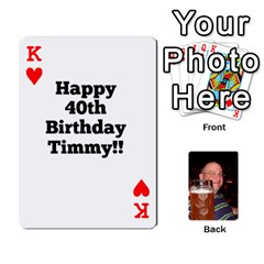 King Timmy Cards By Kelly Corder   Playing Cards 54 Designs   U8mfcx8c1kd1   Www Artscow Com Front - HeartK