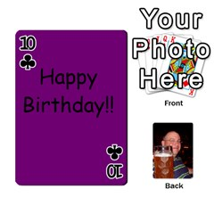Timmy Cards By Kelly Corder   Playing Cards 54 Designs   U8mfcx8c1kd1   Www Artscow Com Front - Club10