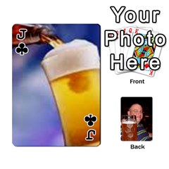 Jack Timmy Cards By Kelly Corder   Playing Cards 54 Designs   U8mfcx8c1kd1   Www Artscow Com Front - ClubJ