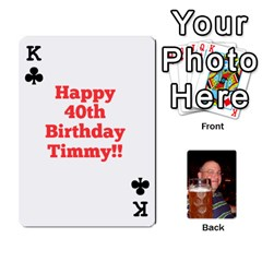 King Timmy Cards By Kelly Corder   Playing Cards 54 Designs   U8mfcx8c1kd1   Www Artscow Com Front - ClubK