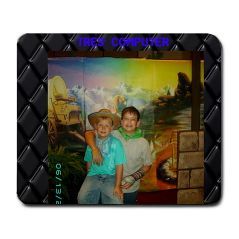 Tres Mousepad By Teresa   Collage Mousepad   Noxsp2kmc2l2   Www Artscow Com 9.25 x7.75 Mousepad - 1