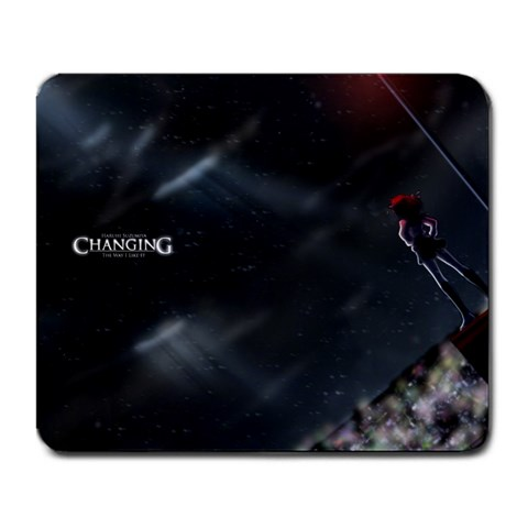 Haruhi Mousepad By Michael Boston   Large Mousepad   Gmlugzmkm560   Www Artscow Com Front