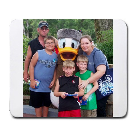 Disney World Trip By Kasey Tatman   Large Mousepad   Zjwgfa8hvkv6   Www Artscow Com Front