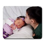 Alex and Sofia  - Large Mousepad