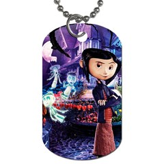 Coraline Dogtag By Mia Story   Dog Tag (two Sides)   Zlqmk4p9ajcs   Www Artscow Com Front