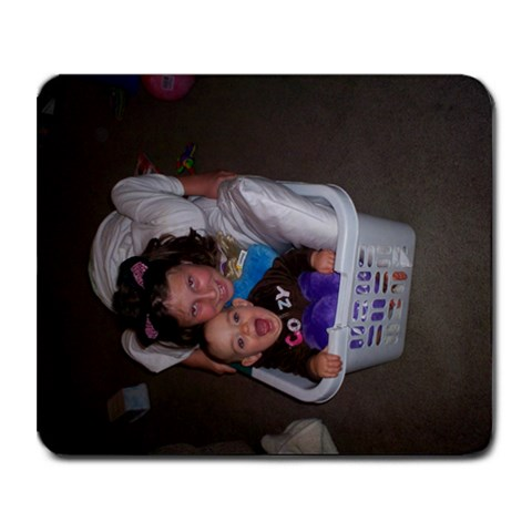 My Girls By Sheri Siegmann Cassell   Collage Mousepad   Iqzb90yyyhpf   Www Artscow Com 9.25 x7.75 Mousepad - 1