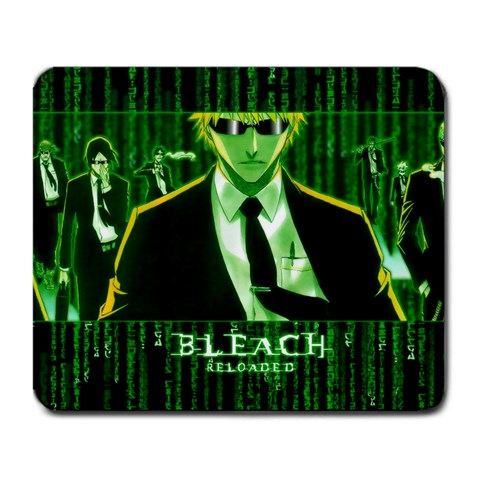 Bleach Matrix By Mason Kitchens   Large Mousepad   0exsk66popnc   Www Artscow Com Front