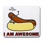 HEY ERRBODY! - Large Mousepad
