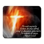James 1:22 - Large Mousepad