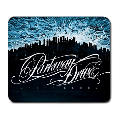 Parkway Drive Deep Blue By Lewis   Large Mousepad   8hh851ii7w1g   Www Artscow Com Front