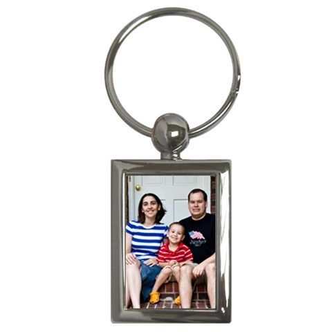 Family Keychain By Elizabeth Mccoy   Key Chain (rectangle)   Obs7zfc49q2y   Www Artscow Com Front