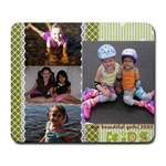 girls - Collage Mousepad
