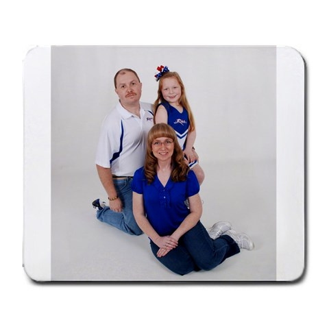 Family Mousepad By Tammy Grizzle   Large Mousepad   Jjqf0jj6kcnk   Www Artscow Com Front