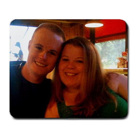 Me And Brian By Kimberly    Collage Mousepad   Ac43vzdrrd5d   Www Artscow Com 9.25 x7.75 Mousepad - 1