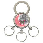 butterfly - 3-Ring Key Chain