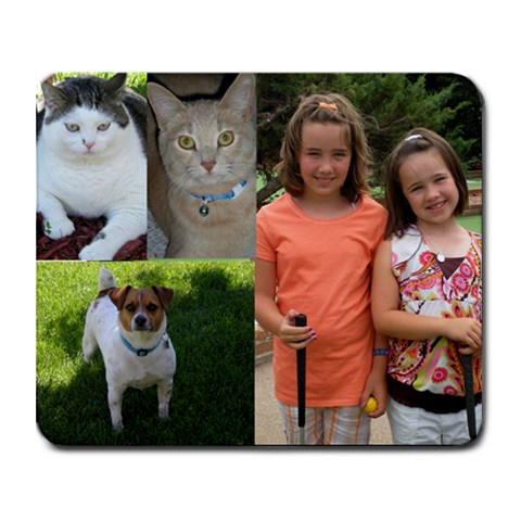Mouse Pad By Stacey    Collage Mousepad   1x386pmqpm8g   Www Artscow Com 9.25 x7.75 Mousepad - 1