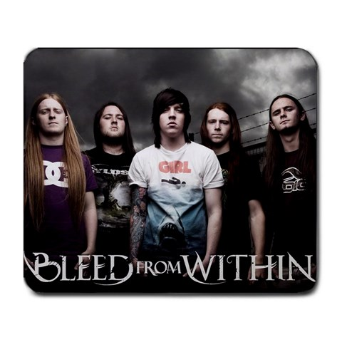 Bleed From Within By Jamie Wilson   Large Mousepad   Uy63i7rj1bgm   Www Artscow Com Front