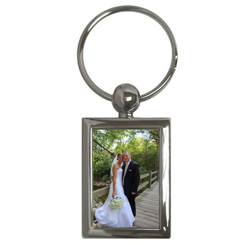 Wedding 1 By Juli Waugh   Key Chain (rectangle)   X67184ir4vx1   Www Artscow Com Front