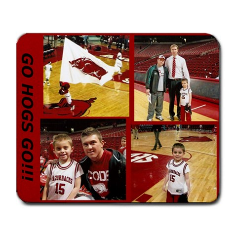 Hog Mousepad By Stephanie Benoit Langston   Collage Mousepad   0ln13czar52x   Www Artscow Com 9.25 x7.75 Mousepad - 1