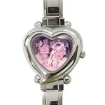 Watch for Mom - Heart Italian Charm Watch