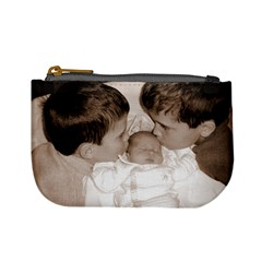 Brotherly Love Coin Purse  by Laura Holliday Front