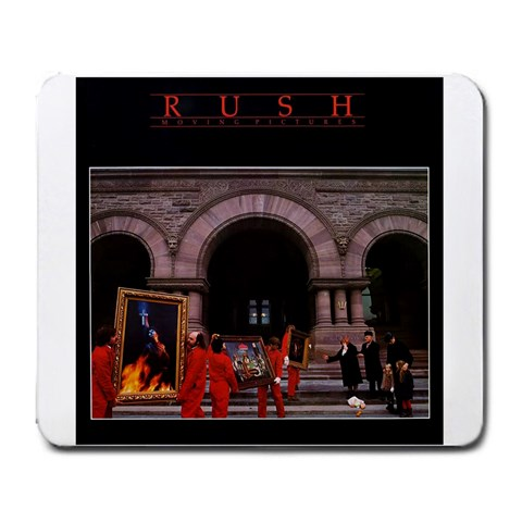 Rush By Wyatt Boyer   Large Mousepad   3tzkf6nng1nh   Www Artscow Com Front