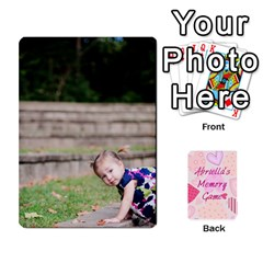 Memory Cards By Christina   Playing Cards 54 Designs   Sn9xkcxn394t   Www Artscow Com Front - Heart3