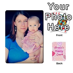 Memory Cards By Christina   Playing Cards 54 Designs   Sn9xkcxn394t   Www Artscow Com Front - Spade4