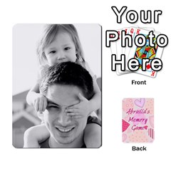 Ace Memory Cards By Christina   Playing Cards 54 Designs   Sn9xkcxn394t   Www Artscow Com Front - HeartA