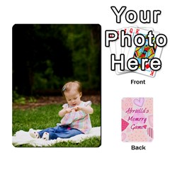 Memory Cards By Christina   Playing Cards 54 Designs   Sn9xkcxn394t   Www Artscow Com Front - Diamond8