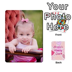 Memory Cards By Christina   Playing Cards 54 Designs   Sn9xkcxn394t   Www Artscow Com Front - Diamond9