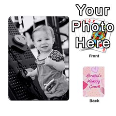 Memory Cards By Christina   Playing Cards 54 Designs   Sn9xkcxn394t   Www Artscow Com Front - Spade7
