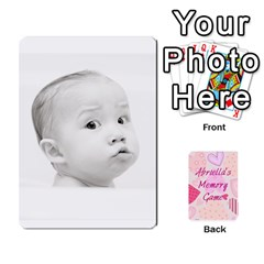 Ace Memory Cards By Christina   Playing Cards 54 Designs   Sn9xkcxn394t   Www Artscow Com Front - ClubA