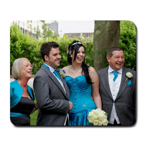 Smiles All Round! By Chris  arnie  Arnold   Large Mousepad   Dk4szxu8zght   Www Artscow Com Front