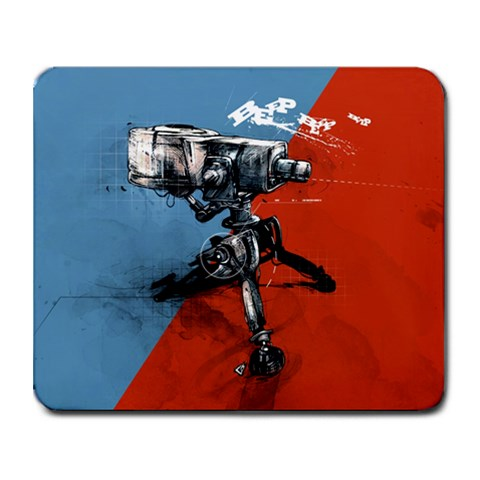 Sentry By Coady Aaron Aucoin   Collage Mousepad   R2ueb0xlzmse   Www Artscow Com 9.25 x7.75 Mousepad - 1