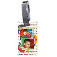Luggage Tag By Sheila Irish   Luggage Tag (two Sides)   Ys3mz28qvj1j   Www Artscow Com Back
