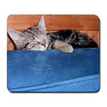 Sleepy Percy - Large Mousepad