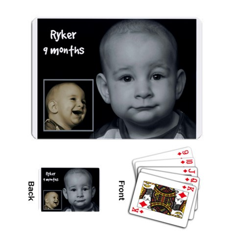 Turtle 9 Months By Amarilloyankee   Playing Cards Single Design   F2yt69ctps8b   Www Artscow Com Back