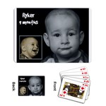 turtle 9 months - Playing Cards Single Design