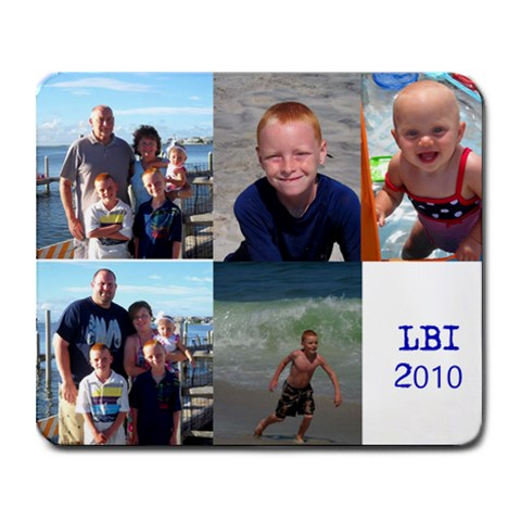 Lbi 2010 By Jennifer Holmes   Collage Mousepad   2eboy33xwmz4   Www Artscow Com 9.25 x7.75 Mousepad - 1