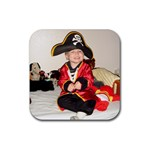 Pirate play - Rubber Coaster (Square)
